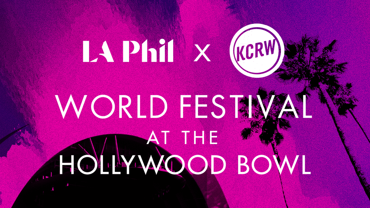 These Hollywood Bowl performances are special one-time only broadcasts. Join us this Sunday at 6 p.m. PT for another evening of live music.