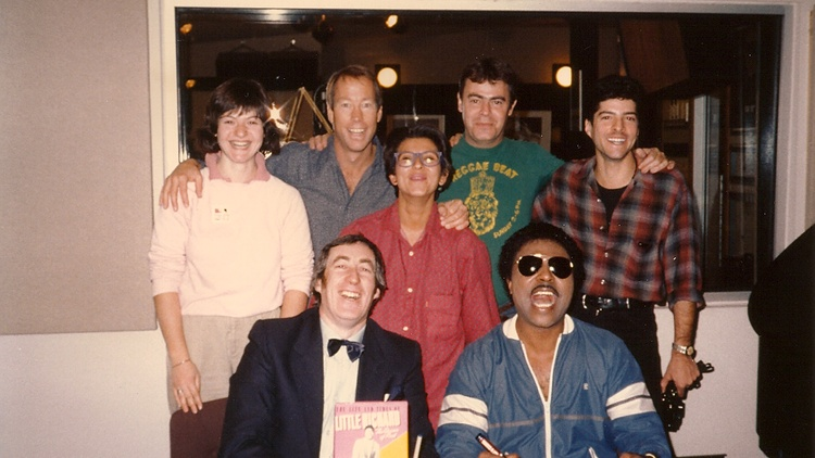 Tom Schnabel met and interviewed Little Richard just once, on December 18, 1984. The fun and joyful visit was at times wonderfully raucous.