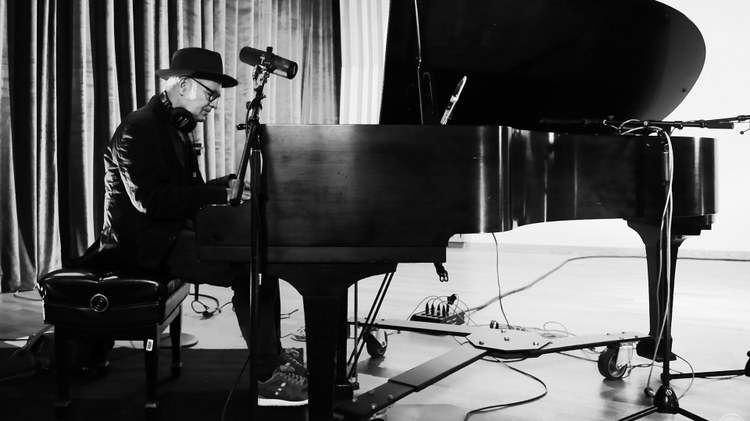 Celebrated pianist and film composer Ludovico Einaudi's music has been a mainstay on KCRW over the years, and he's been a frequent guest on our air.  Einaudi is quarantining with his…