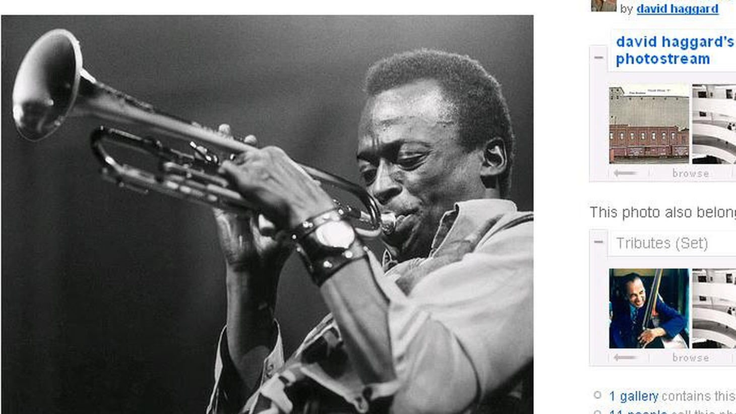 In Spring 1959, Miles recorded his landmark album. It became the best selling Jazz album of all time. It still holds up, fifty years later. (Airs 1-2pm and preempts The World.)