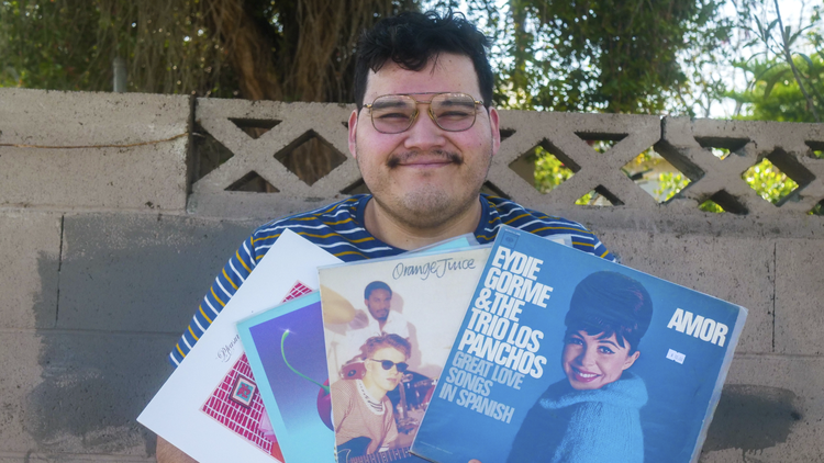 Private Playlist: Dante Elephante is slowing down his life with sides of vinyl