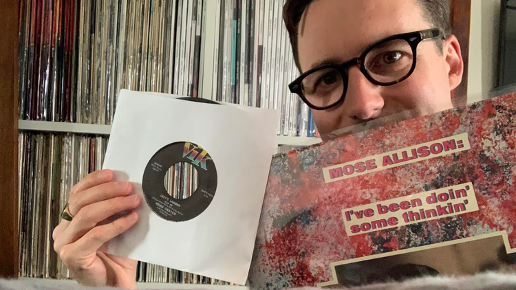 """For KCRW's """"Private Playlist,"""" Nick Waterhouse picks five discs that changed the course of his life, including Mose Allison and Dee Clark."""