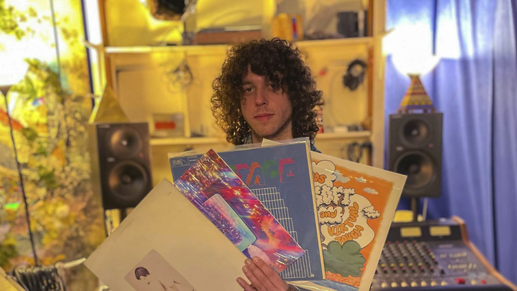 """For KCRW's """"Private Playlist,"""" Vinyl Williams spans the decades for a set of astral masterpieces from A.R. Kane, Montage, The Peace, and more."""
