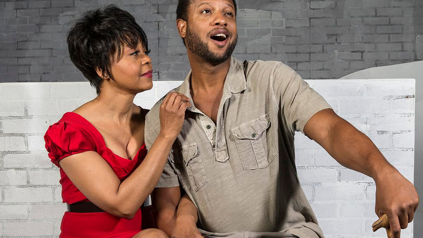 A jazz interpretation of the American opera Porgy and Bess debuts this weekend at the New Vic Theater in Santa Barbara. KCRW's Larry Perel spoke with the starring actors about the history behind the production and why the story is just as relevant today.