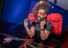 Straight from the heart: a romantic adventure with Reggie Watts