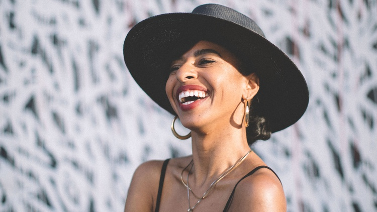 Novena Carmel, your neighbor with the flavor, serves up a fresh sample platter of timely and timeless soul, global funk, and tasty multi-genre grooves, old and new.