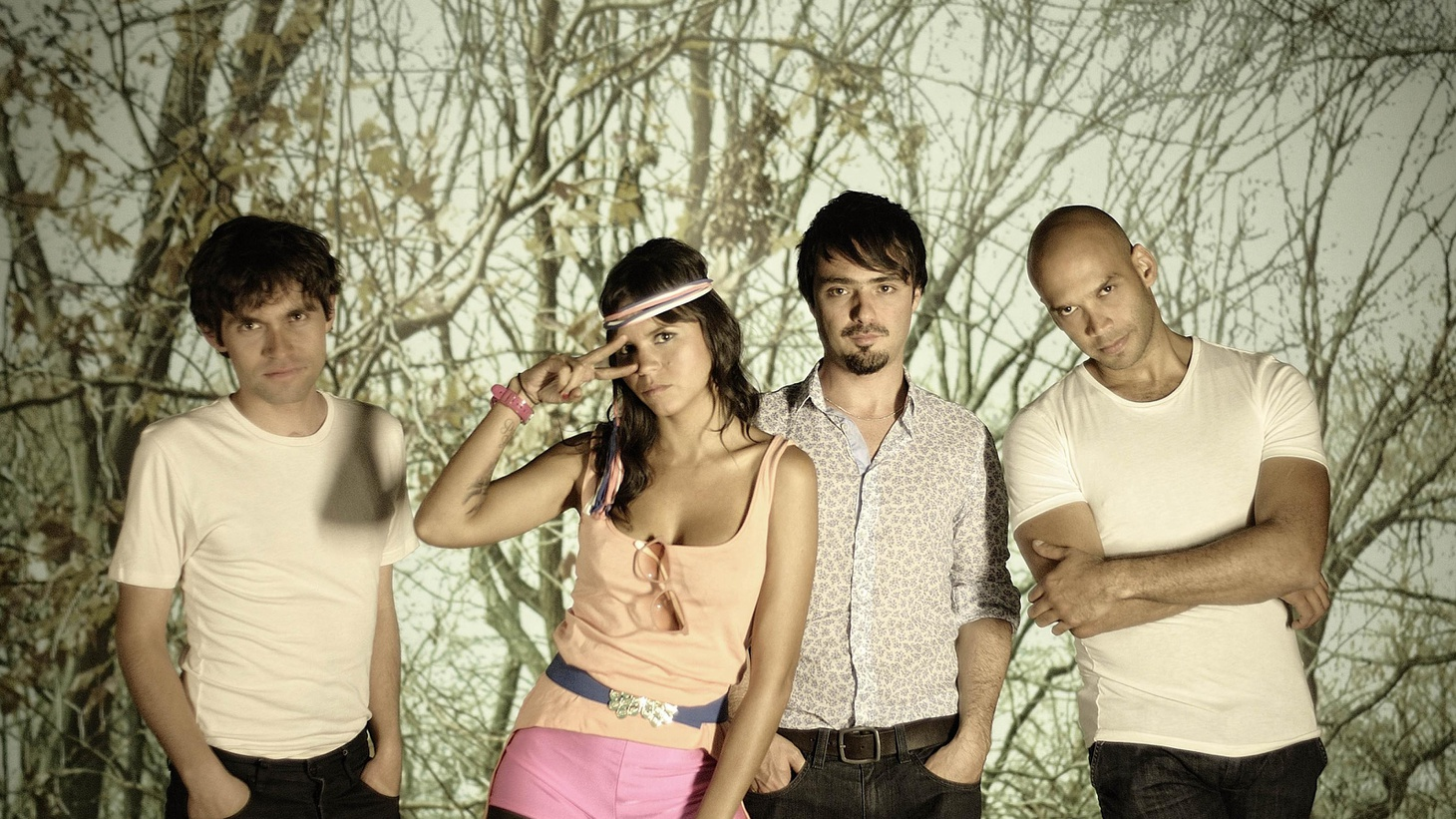 Raul interviews Bomba Estereo live from the Latin Alternative Music Conference in New York City.