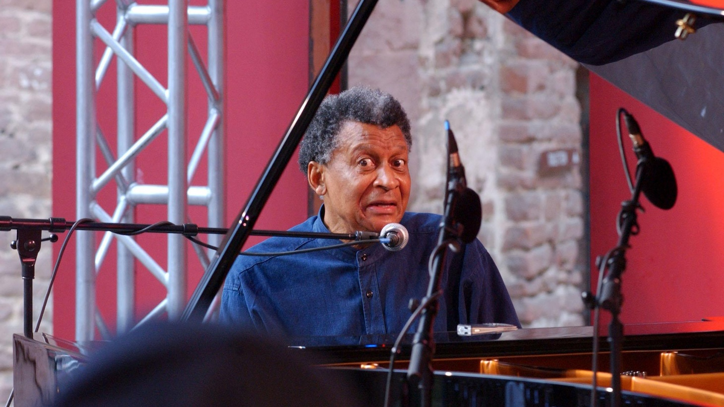 """...from Senzo.   South African born pianist Abdullah Ibrahim was once known as """"Dollar Brand"""". His improvisational jazz is beautifully recorded on his latest solo CD.."""