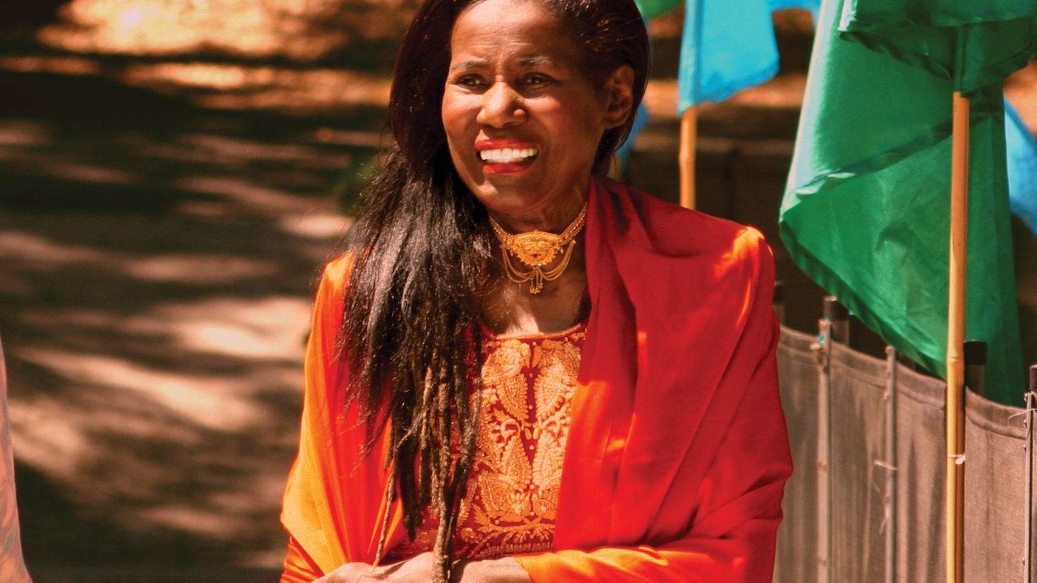 Multi-instrumentalist, composer, and the wife of John Coltrane, Alice Coltrane Turiyasangitananda stood in her husband's shadow. Few know that in the last two decades of her life, she composed Hindu devotional songs as the spiritual leader of an ashram in the Los Angeles suburb of Agoura Hills.