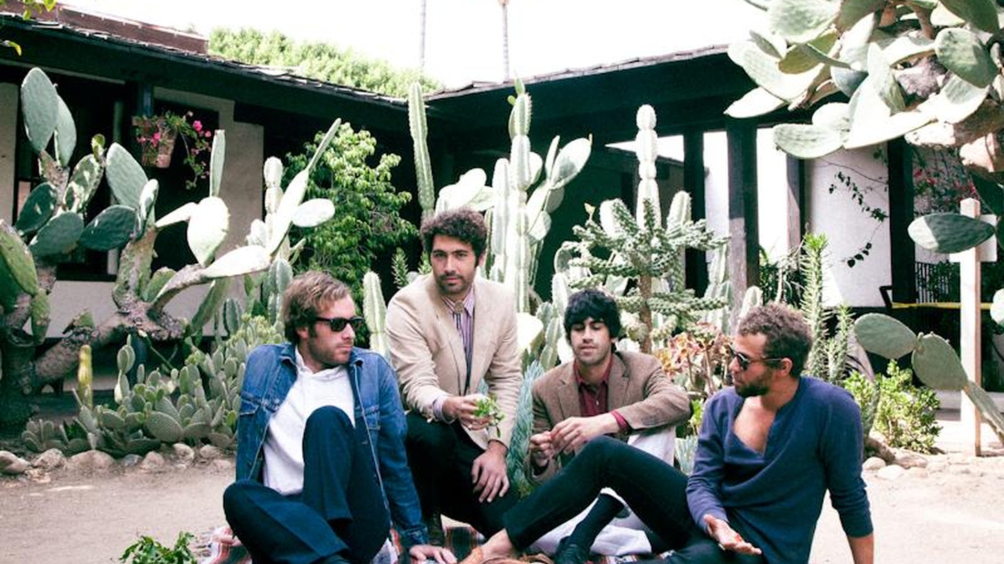 Members of the Allah-Las met while working at Amoeba Music in Hollywood, which could explain all the influences you hear in their music including surf rock, 60's vibes...