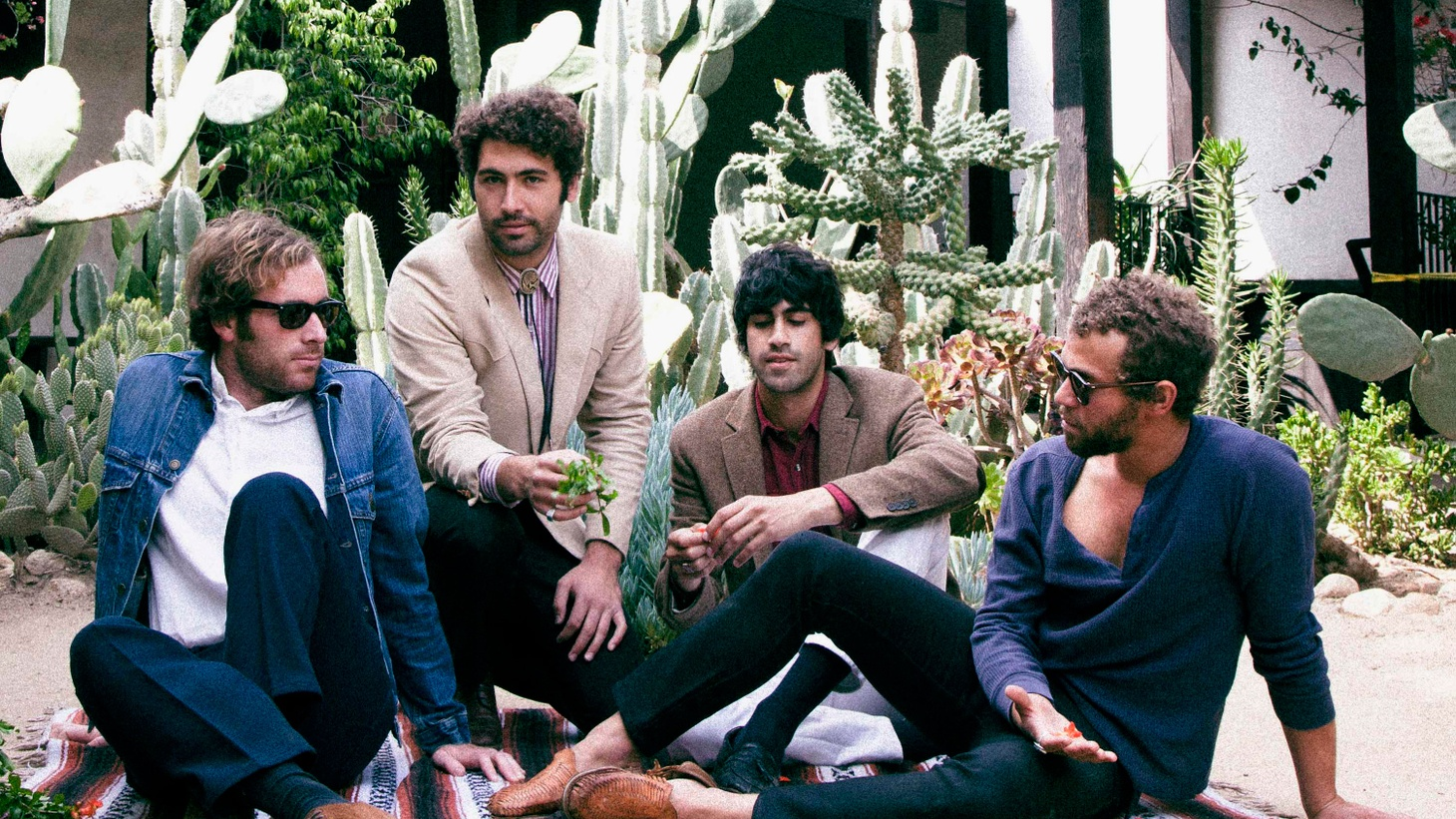 As the members of Allah-Las were preparing their next album, they decided to put together a collection that explored old and new songs they enjoyed: songs like George Harrison's Fish on the Sand, Television's Hard On Love and Kathy Heideman's The Earth Won't Hold Me.