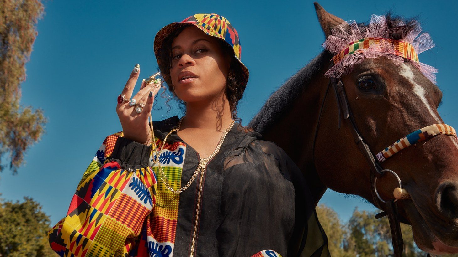 """Picture yourself driving down your favorite road, top down, as laser beams of music blast through the speakers to ritual goddess Aluna's (of AlunaGeorge) solo debut """"Body Pump."""" This sonic of    fering is built for such an occasion."""