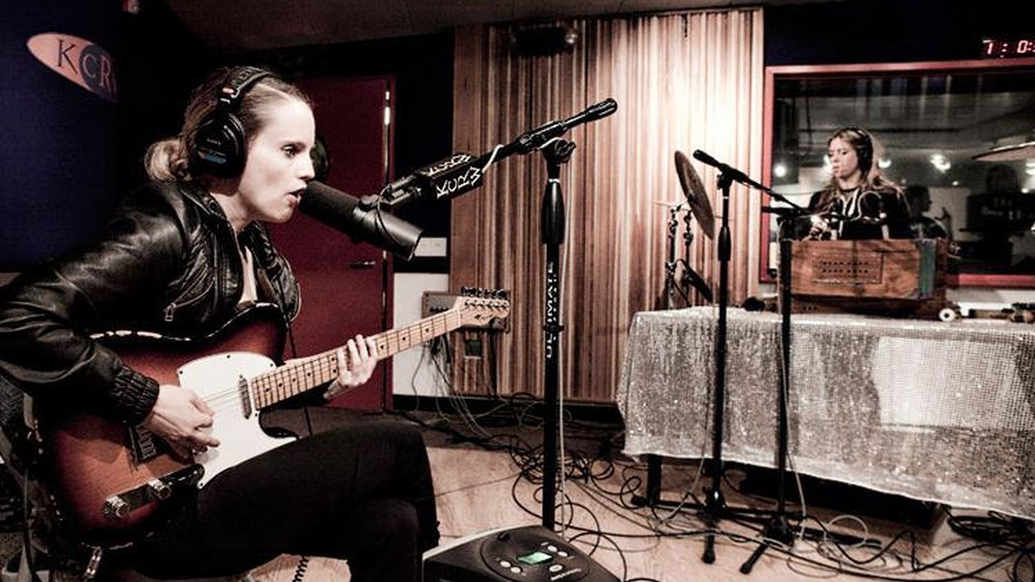 British singer and guitarist Anna Calvi is a captivating performer as we witnessed when she joined Morning Becomes Eclectic for a live session...