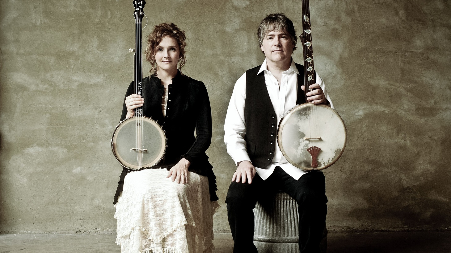 "Married couple Bela Fleck & Abigail Washburn are a match made in heaven for their love and mastering of the banjo. Their first album together was recorded at home and features an array of banjos and their nimble playing. Today's Top Tune is ""New South Africa."""
