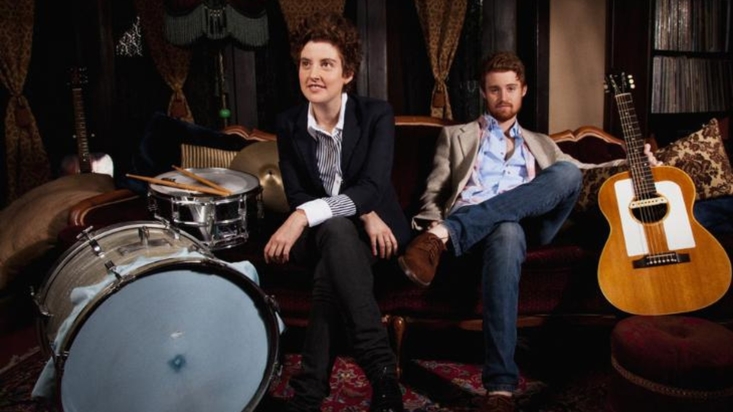 """Siblings Barbara and Ethan Gruska grew up in a musical family that includes their grandfather, composer John Williams. Their sweet harmonies shine through on Belle Brigade's """"Sweet Louise,"""" a highlight off their new album and Today's Top Tune."""