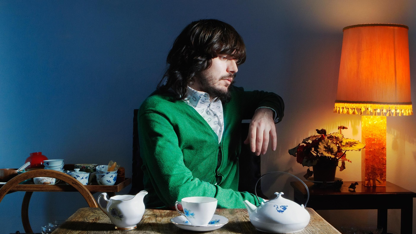 Genre-bending electronic producer Bibio let nature take its course and let the music flow as he found inspiration.