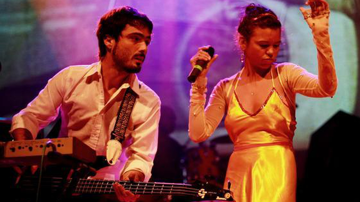 ...from Blow Up.   Bomba Estereo fuse the indigenous sounds of the Carinbean Coast of Colombia with Electronica and Hip-Hop...