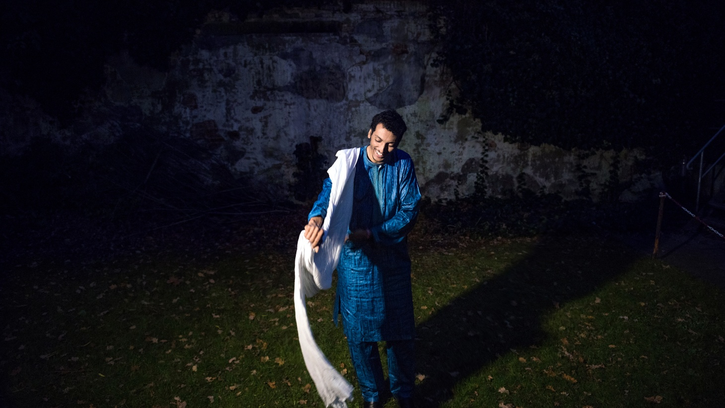"""Desert rock guitarist Bombino wrote the song """"Akhar Zaman"""" as his missive to his fellow nomadic Tuareg people to remember their culture and identity in this modern world."""