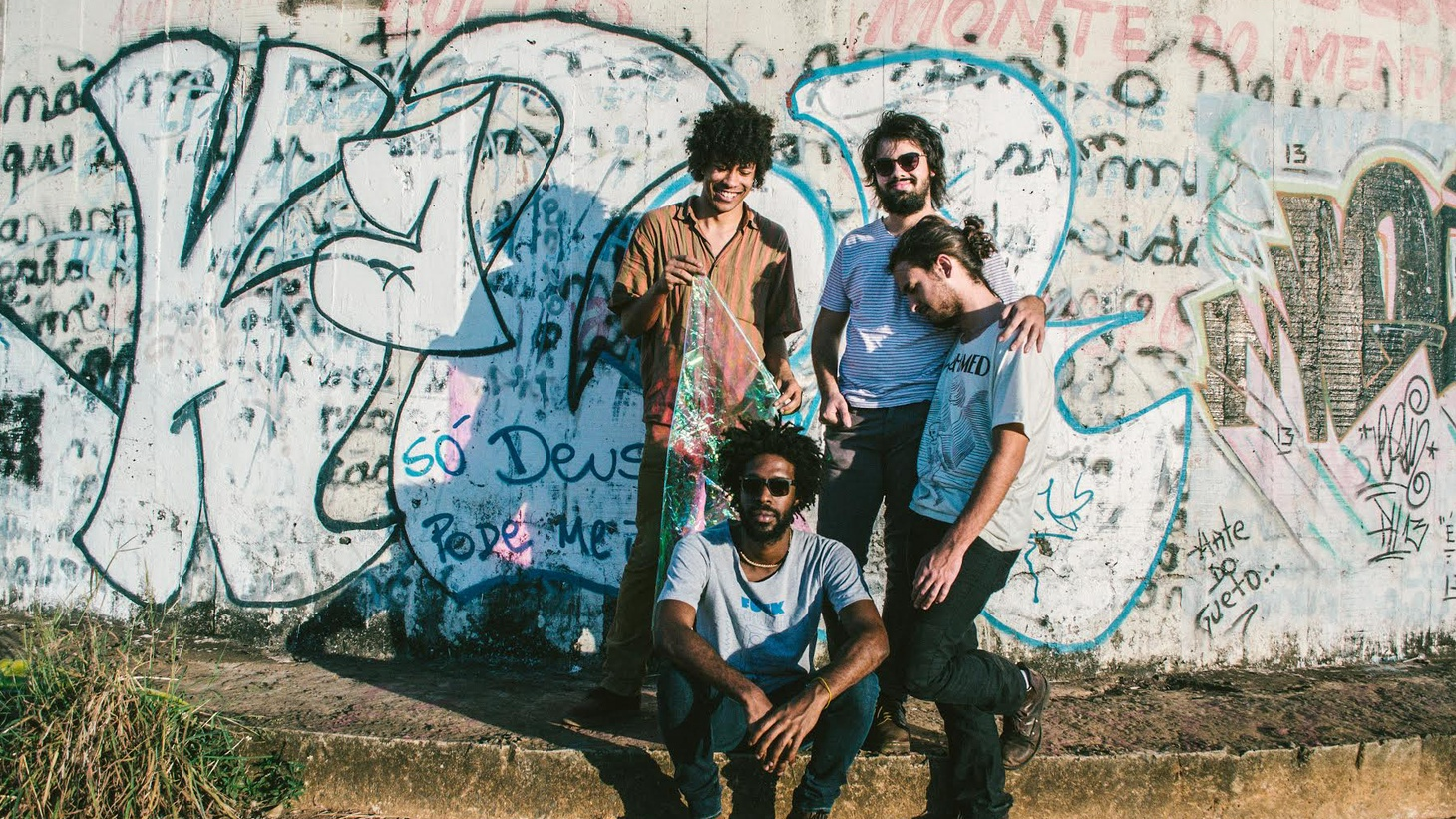 "Brazilian artists Boogarins lean toward the psychedelic showcasing Portuguese as a languid language that fits in nicely to Today's Top Tune is ""Avalanche,"" from their album Manual."