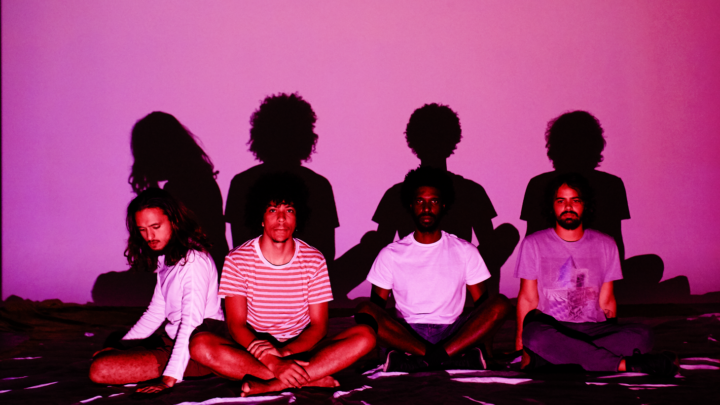 """""""Sombra Ou Duvida"""" (or Shadow Or Doubt) gives us clues to Boogarins' dark themes. The rhythmic track was cobbled together in between tours over the last 2 years, and is the title track to their new album."""