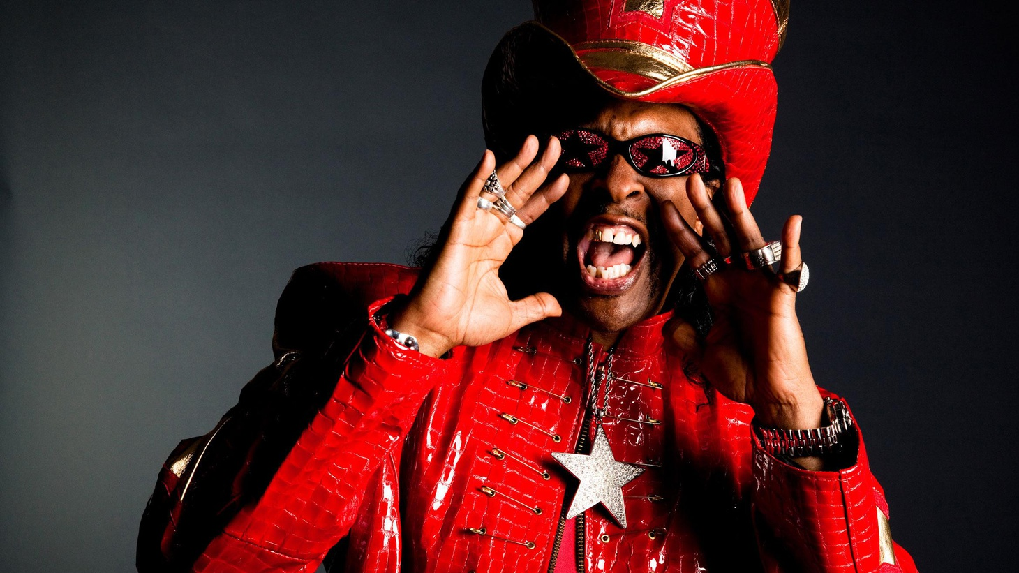 Rock & Roll Hall of Famer and iconic bassist Bootsy Collins has pioneered funk along with Parliament Funkadelic and James Brown....