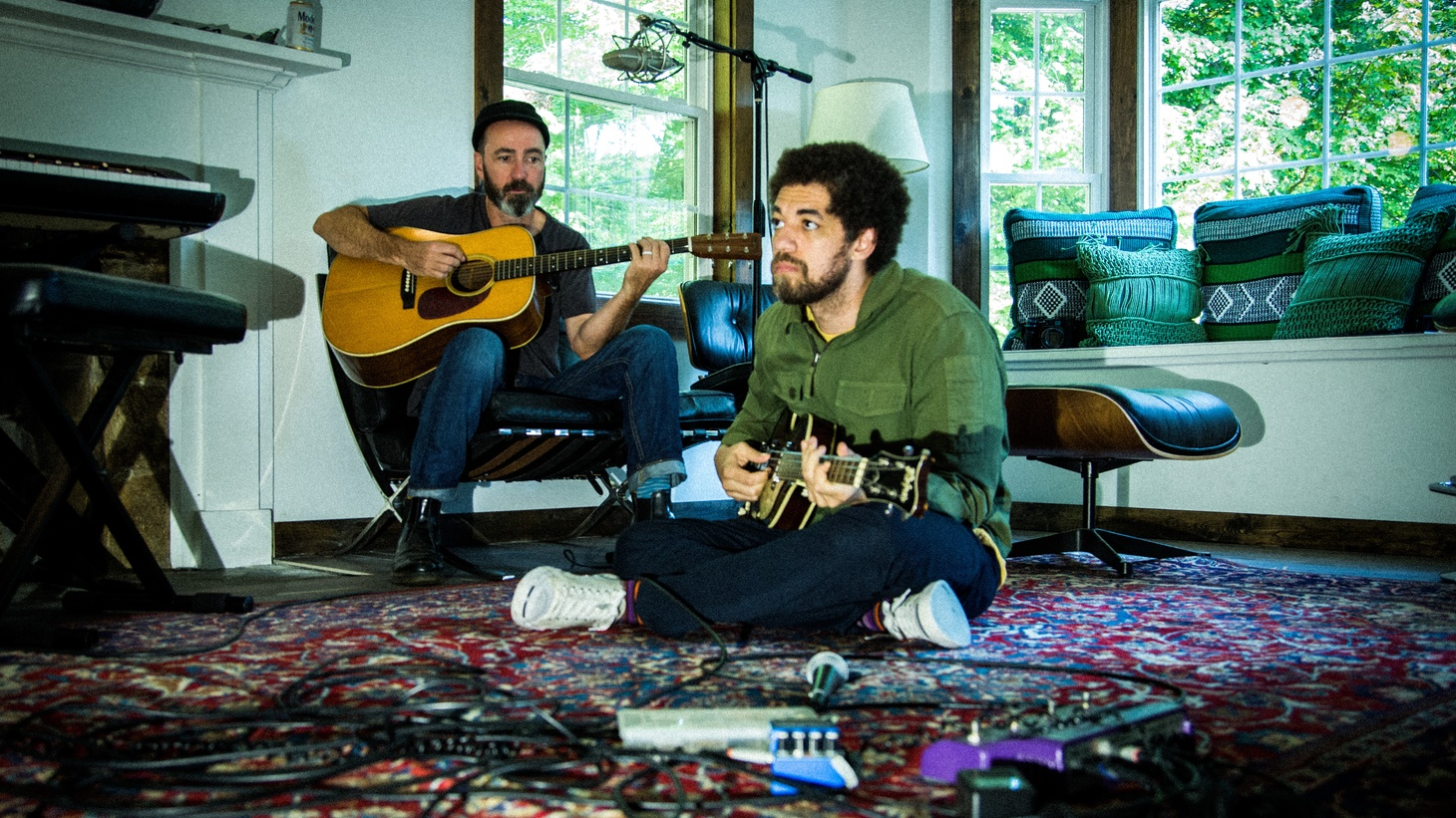 KCRW is delighted to report that Brian Burton (aka Danger Mouse) and James Mercer of The Shins are back in the studio, and working on their third Broken Bells album.