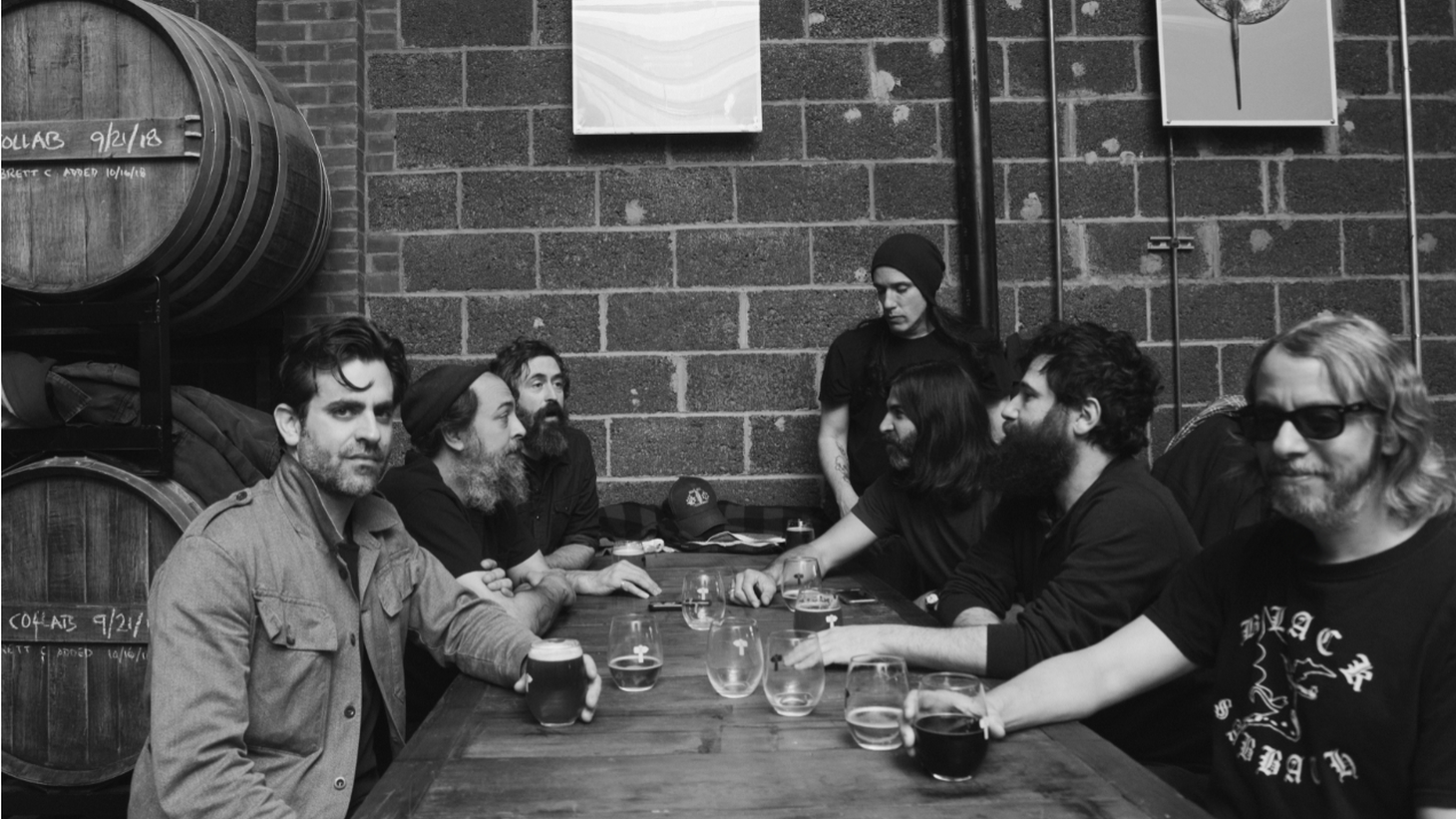 """Budos Band continue their cinematic outpour of Afro-psychedelic rock on their sixth studio album """"Long In The Tooth ."""" After 15 years together, you can still hear the joy in their sound as encapsulated on """"Gun Metal Grey."""""""