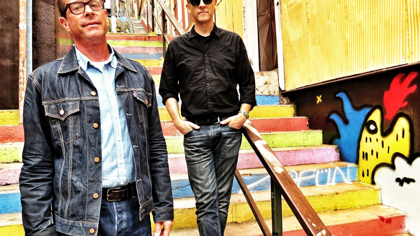 Joey Burns and John Convertino the duo behind Calexico have crossed musical borders with countless trips around the world.