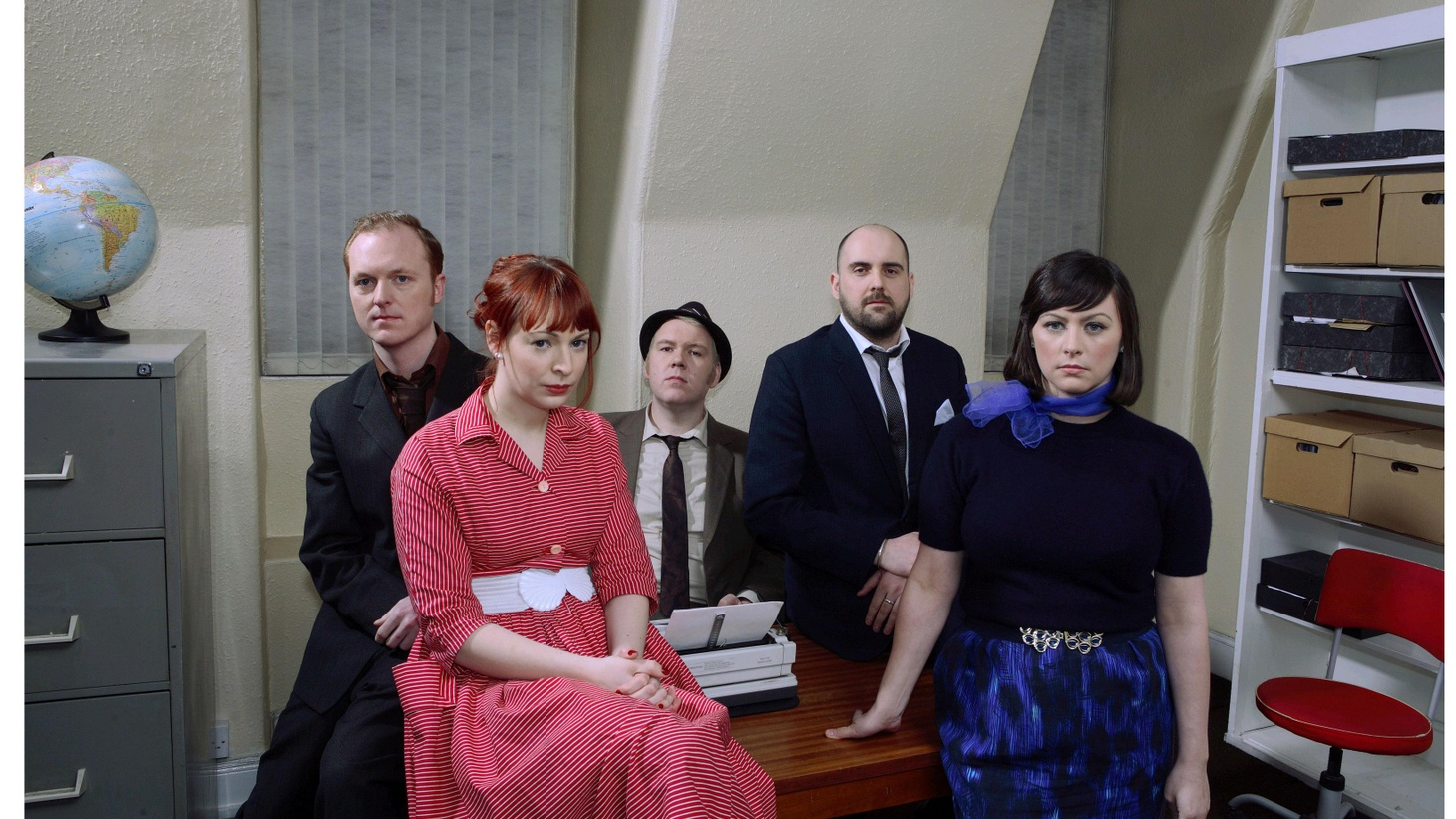 ...the title track from their new CD.    Glasgow's Camera Obscura, fronted by Traceyanne Campbell, make music that fit together like a carefully structured puzzle...