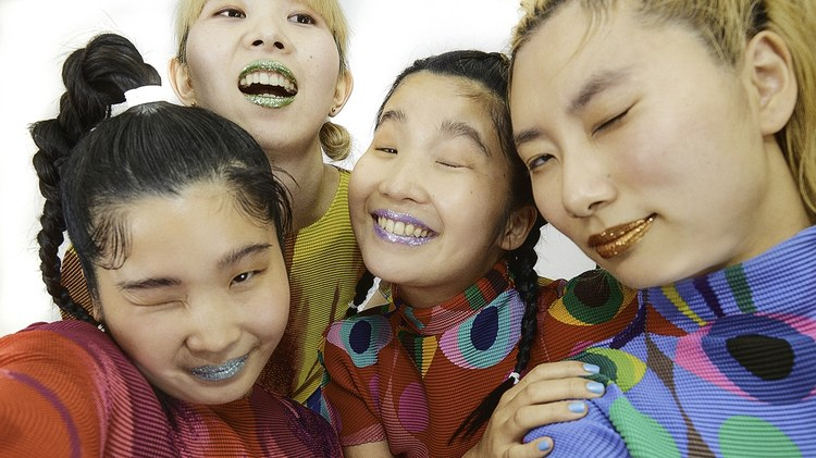 The women that make up Japanese quartet CHAI based their previous recordings on their exuberant live shows.