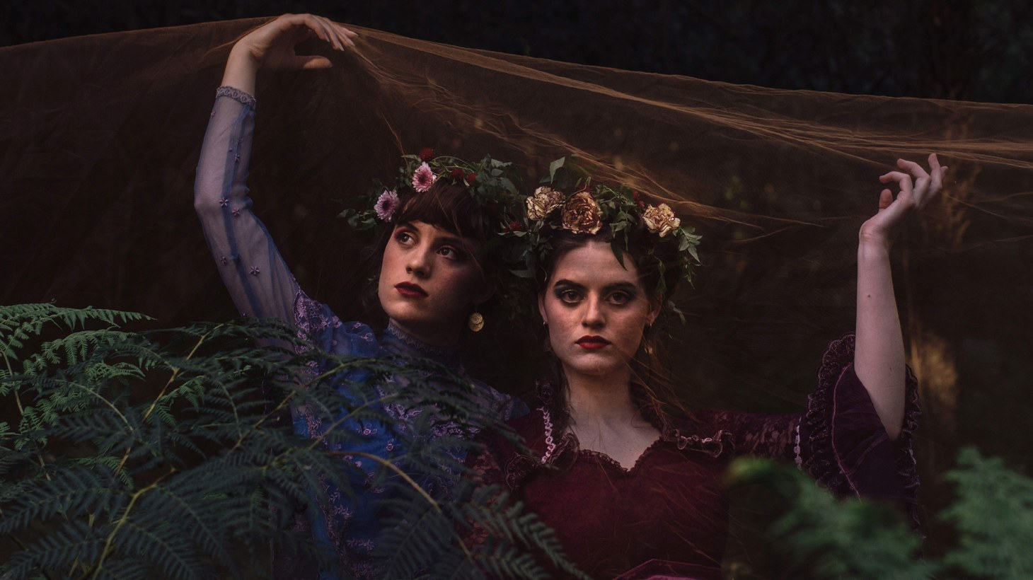 """Melbourne sister duo Charm of Finches are perched for stardom. For lovers of tight sibling harmonies, chamber folk, and those who long to be carried-away by a lullaby, there is """"Treading Water."""""""