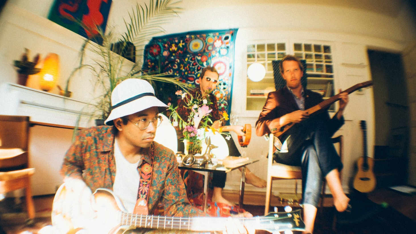 The Mattson 2 and Chaz Bundick, aka Toro Y Moi, met when Chaz came to the jazzy duo's rescue after having forgotten to pack a stool for a show in Oakland. He stayed for their mesmerizing sets and months later they began their collaboration.