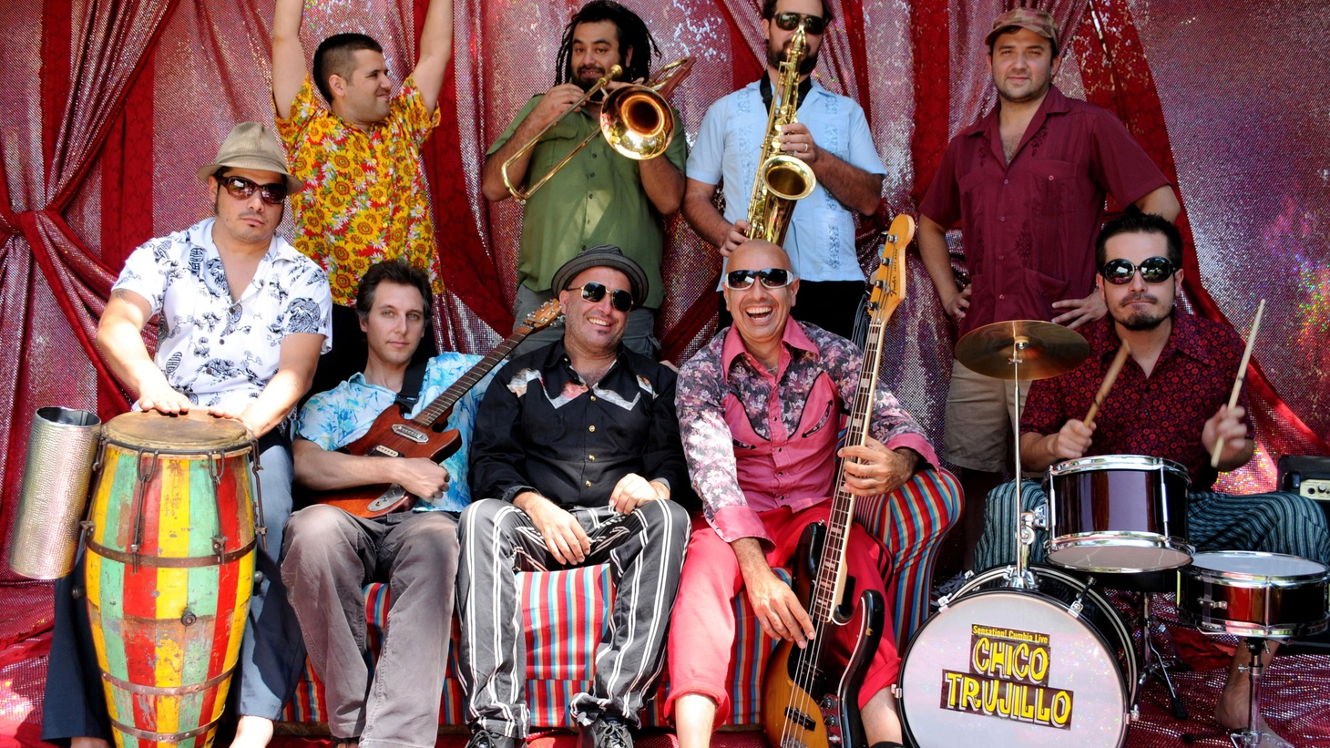 ...from Plato Único Bailable.   The tour manager for Brazilian artist Curumin handed me a CD by this Chilean band, Chico Trujillo. I immediately put it in my car player and noticed that the folks around me were bopping and smiling at me and giving the thumbs up...