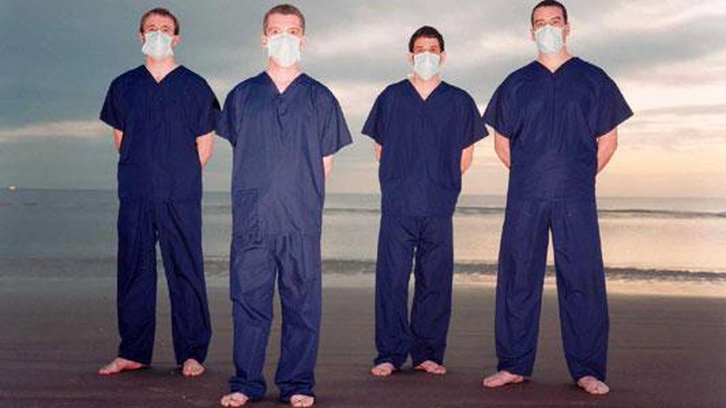 Liverpool's Clinic have always had an air of mystery -- and not just because they cover their faces with surgical masks.