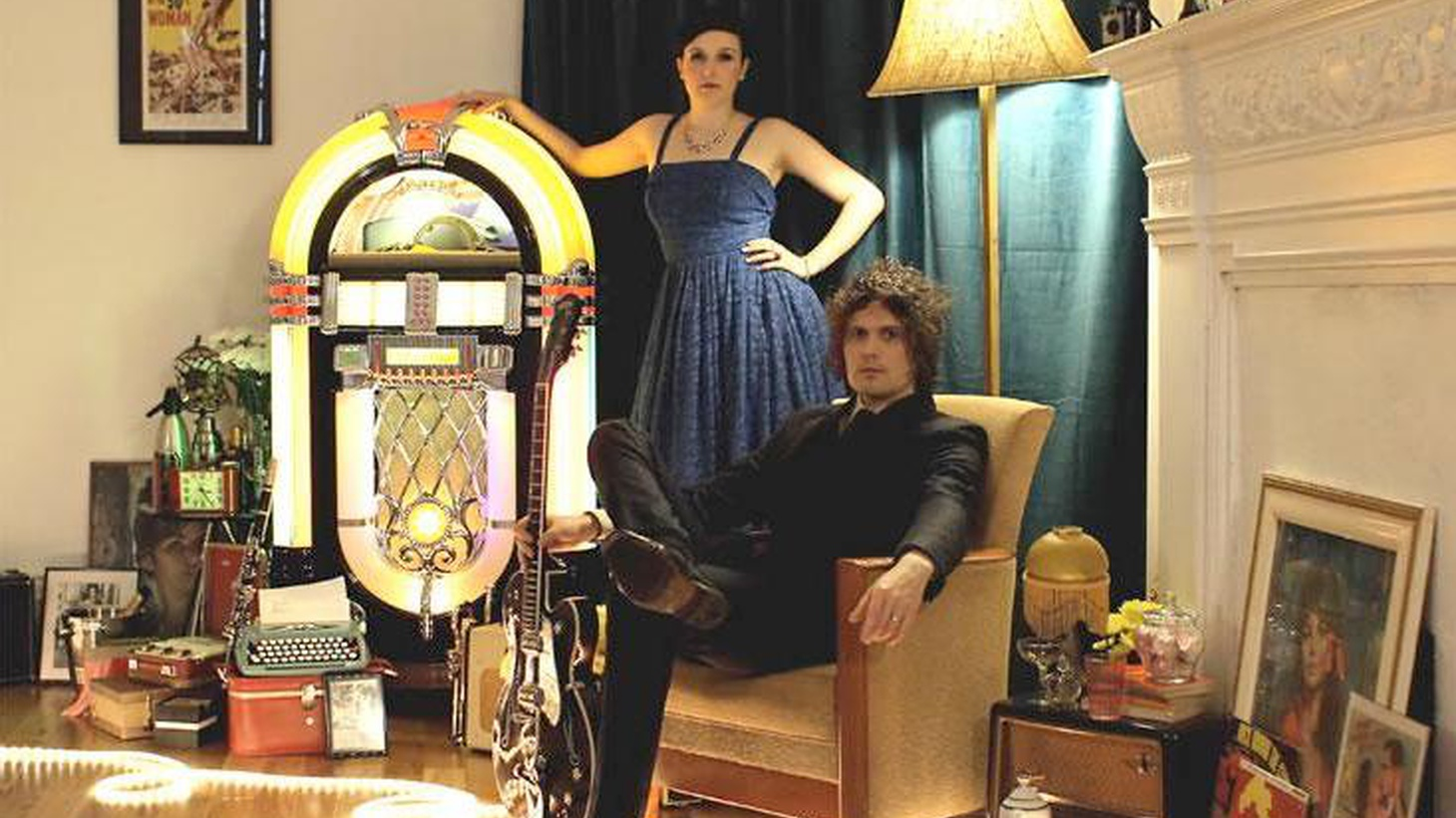 """Glasgow's Codeine Velvet Club is the vintage-inspired side project of Jon Lawler (of The Fratellis) and singer Lou Hickey. The duo celebrate a shared passion for 60's duets and dramatic orchestral pop on their self-titled release as we'll hear on Today's Top Tune """"Hollywood."""""""
