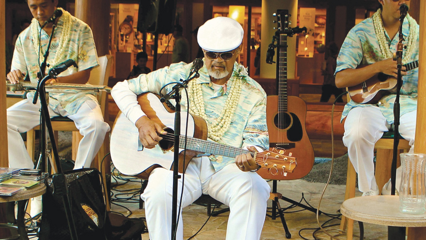 Iconic Hawaiian slack-key guitarist Cyril Pahinui pays tribute to his heritage with a gorgeous recording.