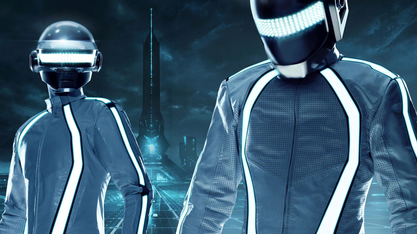 """KCRW is proud to offer an exclusive track from the TRON: Legacy soundtrack, composed by Daft Punk. Today's Top Tune """"Solar Sailer"""" was among the initial demos they submitted to TRON director Joseph Kosinski during the two-year process of working on the score and shows their seamless merging of electronic and orchestral elements."""