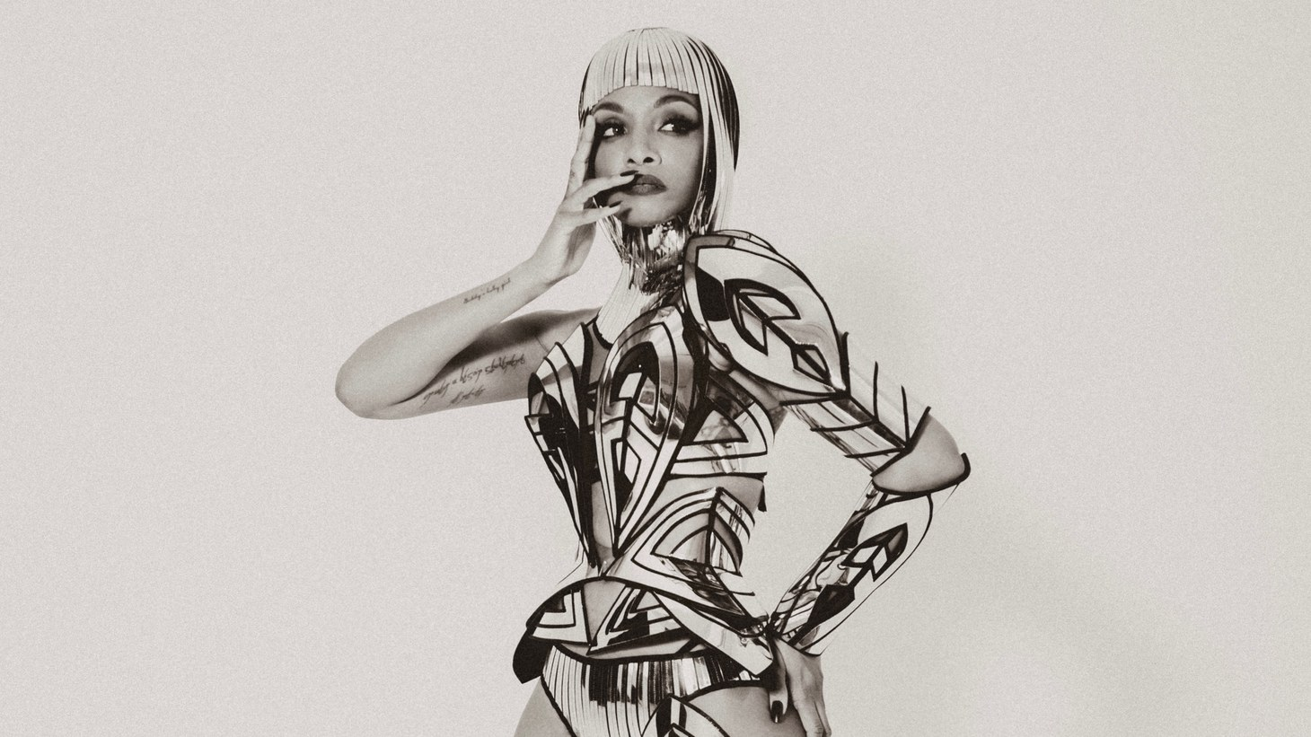 """New Orleans artist Dawn Richard is a dancer, producer, animator, and vegan food truck owner-- to be more succinct, she's a badass. Dance like it's Mardi Gras with """"Bussifame."""""""