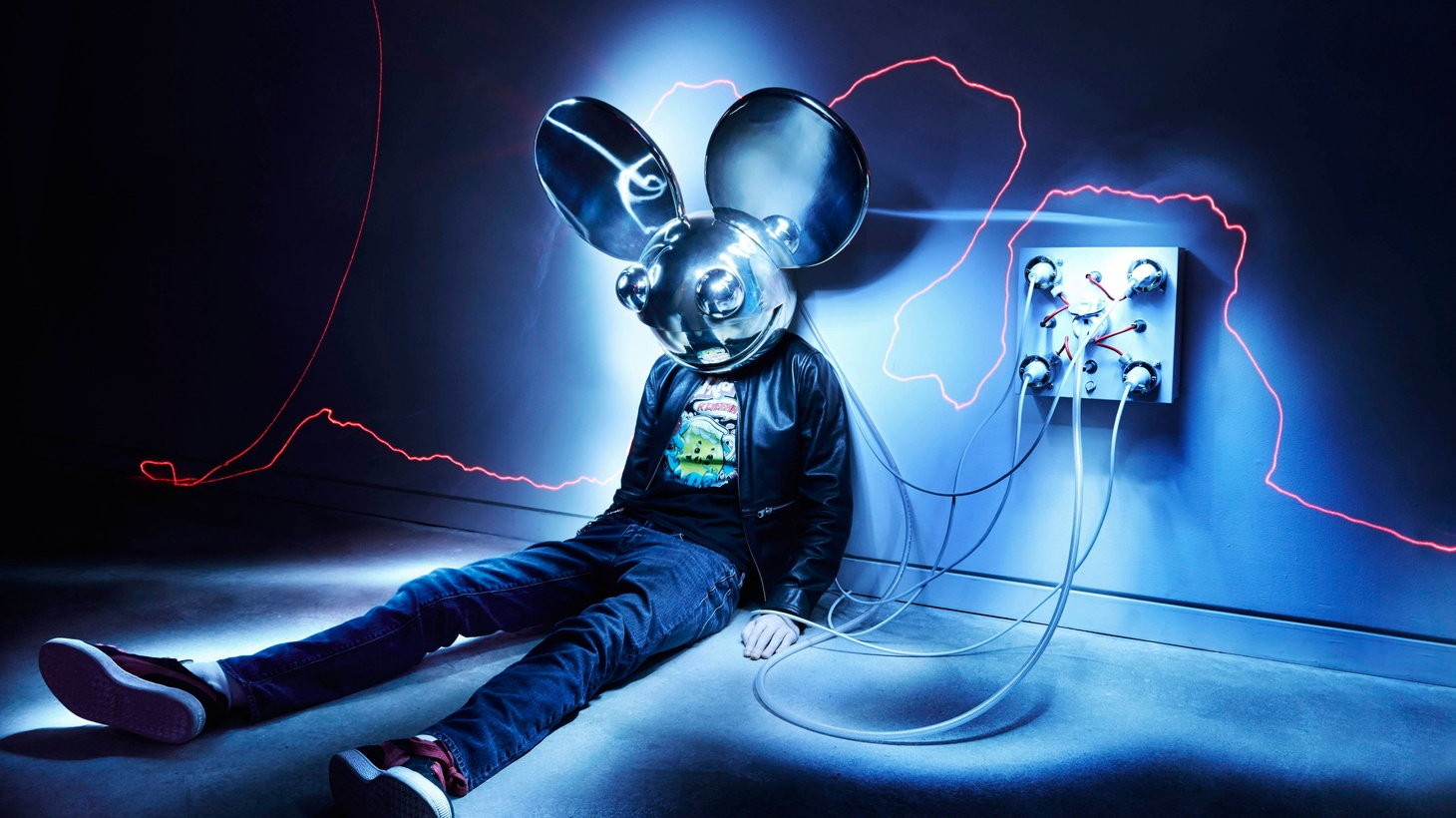 Deadmau5 aka Joel Zimmerman is one of EDM's biggest stars and he recently released an ambitious double CD.
