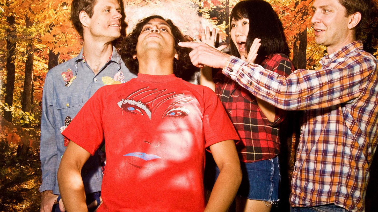 """Deerhoof haven't abandoned their avant garde nature with their success. They still love to push the boundaries of pop and their quirkiness is alive and well in new songs that were premiered on KCRW by none other than DJ Henry Rollins, who's one of their biggest fans. A highlight off their tenth full length, Deerhoof vs. Evil, is Today's Top Tune. It's """"Secret Mobilization."""""""