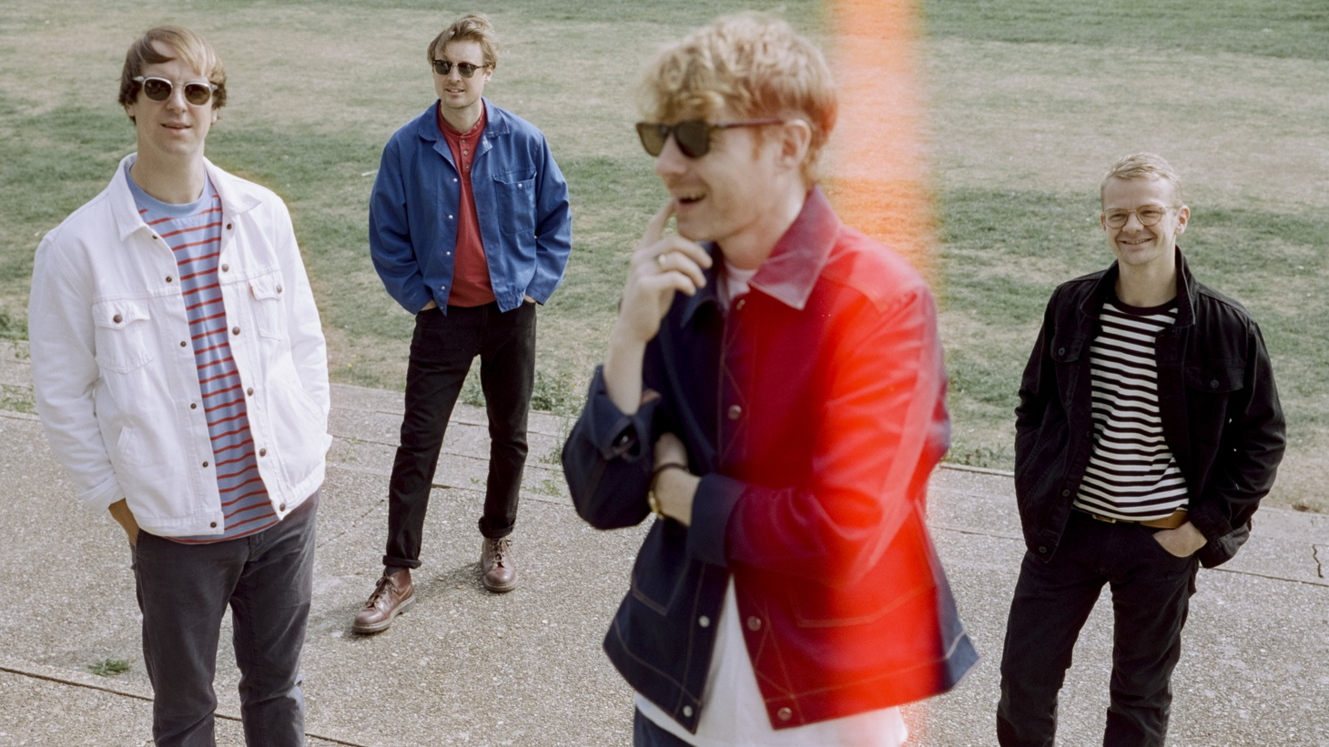 """The electrifying new song by Django Django """"Spirals"""" is a psychedelic rollercoaster ride and a rallying cry for hope. And yes, it does get faster and faster as it gains momentum."""