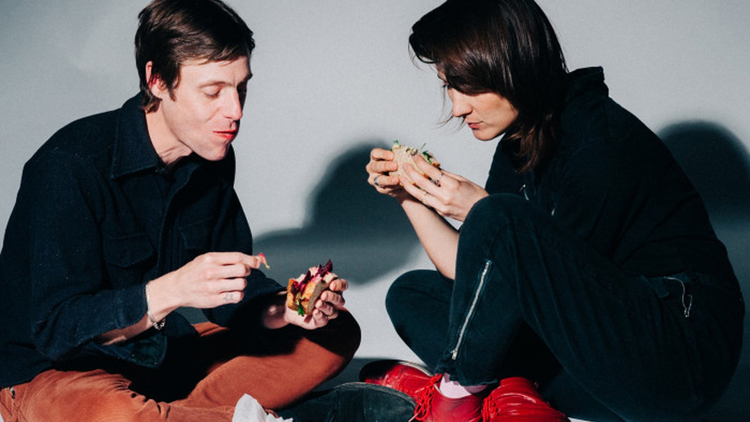 Welsh singer Cate Le Bon and White Fence's Tim Presley mix their styles to create their new project, Drinks.