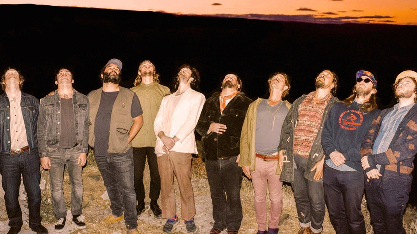 "Edward Sharpe and the Magnetic Zeros frontman Alex Ebert says, ""We had long been a social experiment first, musicians second. Over time, though, we were emerging, by virtue of hours spent, into a group of musicians who could really play together."""
