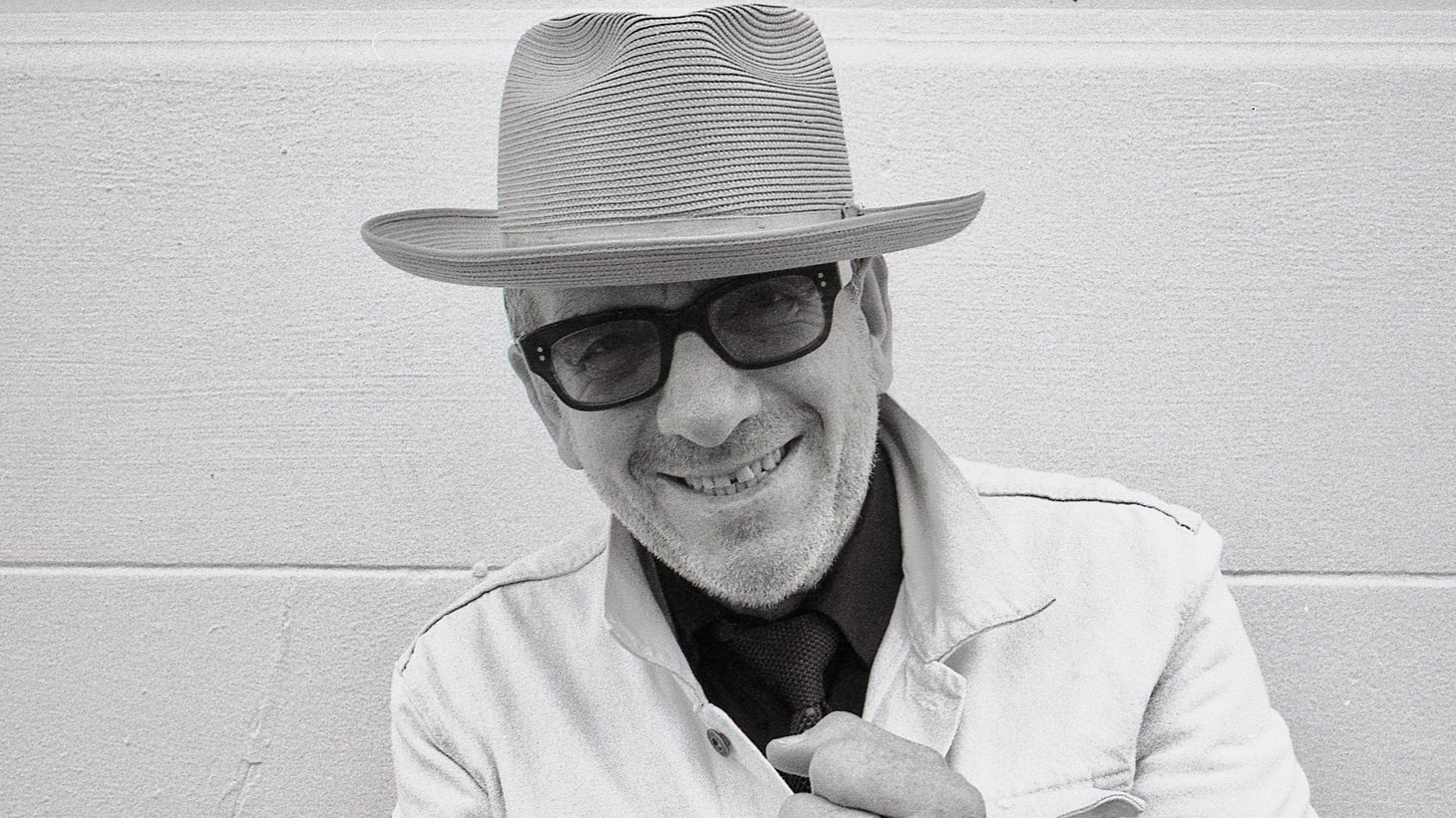 "Back in February, Elvis Costello travelled to Helsinki — a place where he thought he could work incognito — to record ""No Flag.""  He plays everything you hear: drums, Fender Jazzmaster, Hammond Organ and bass."
