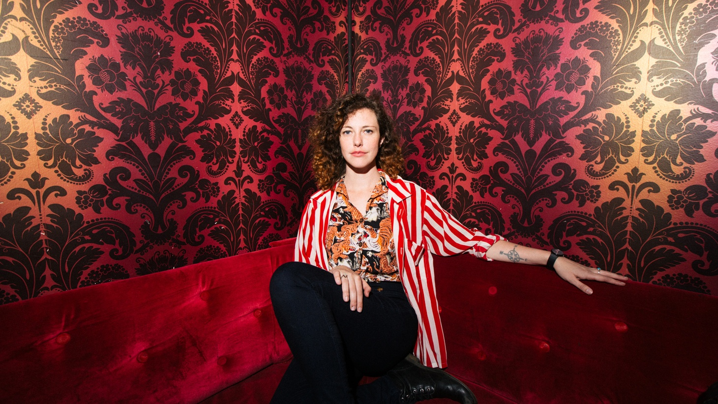 Esme Patterson turns off her brain and let's her body sing. It's her philosophy that at Rock n Roll's core our animal nature meets our hearts and minds.