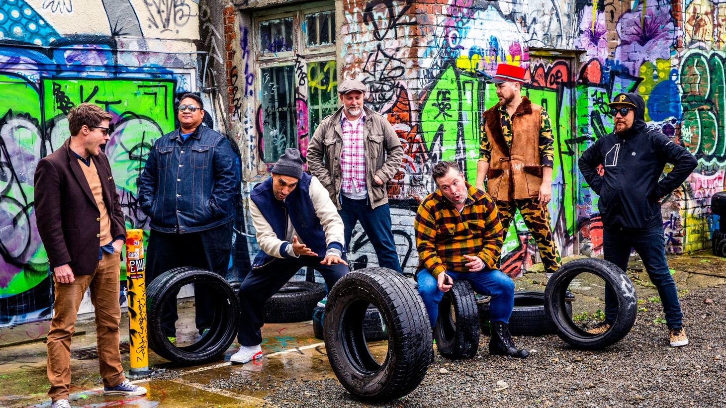 A chart-topping outfit here at KCRW, Fat Freddy's Drop has a new album recorded and named after their studio in their home base of New Zealand.