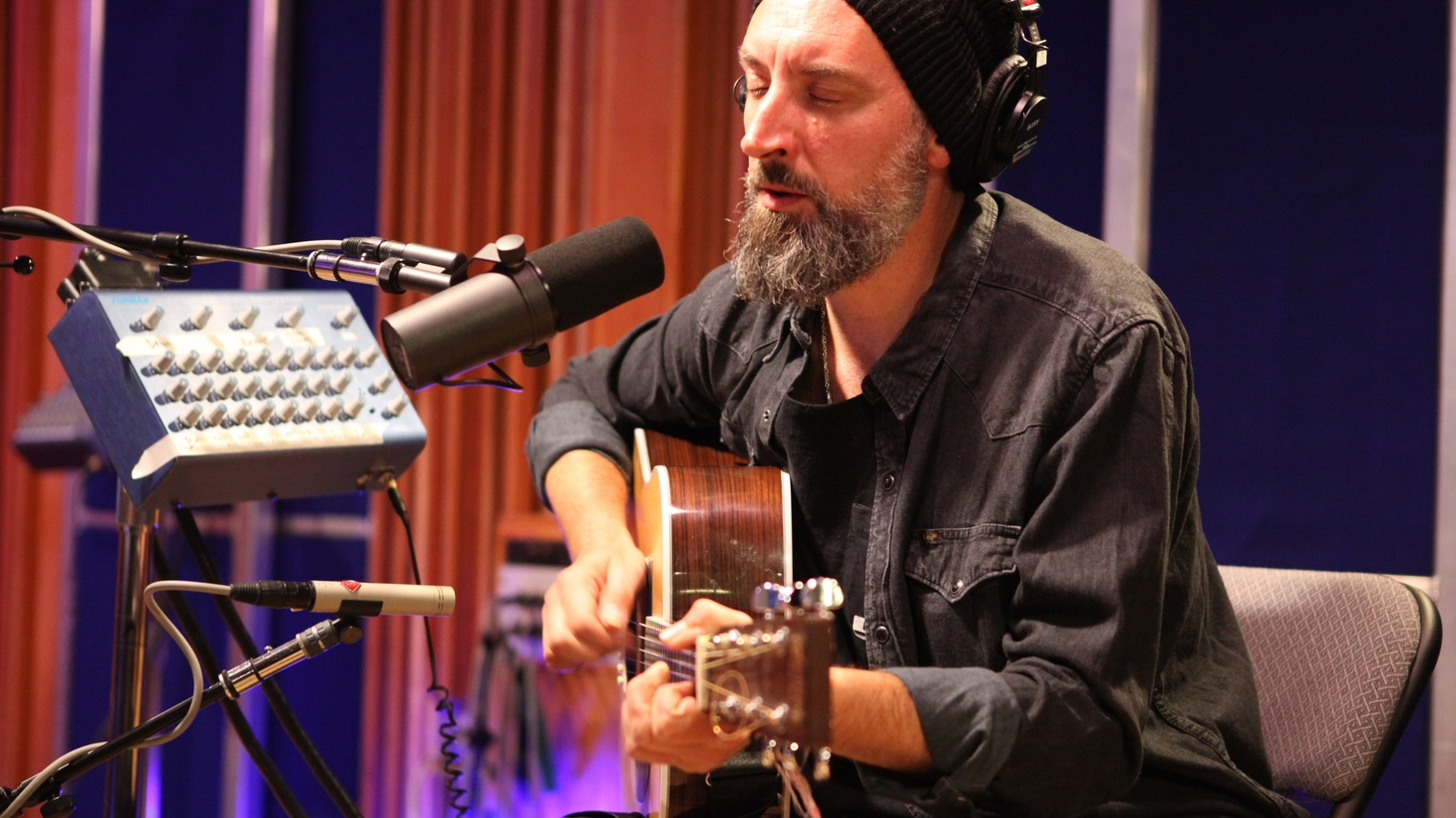 Fink performed exclusive stripped down versions of select tracks off their new album Hard Believer as a trio. It was a magical session and we wanted to share a song from it.