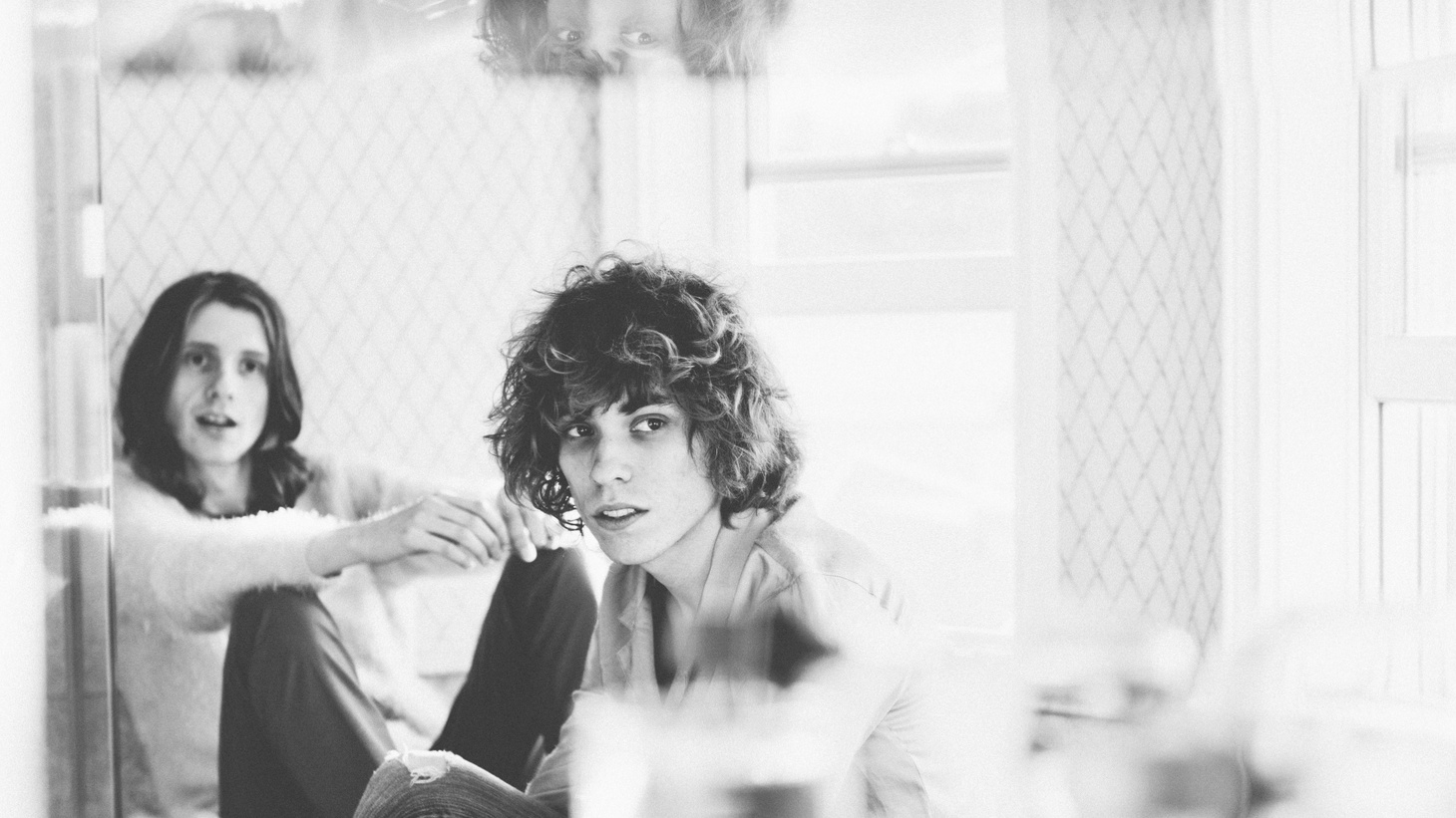 """As the 21st-century ambassadors of peace and magic, Foxygen take us on a psychedelic journey on Today's Top Tune """"How Can You Really""""."""