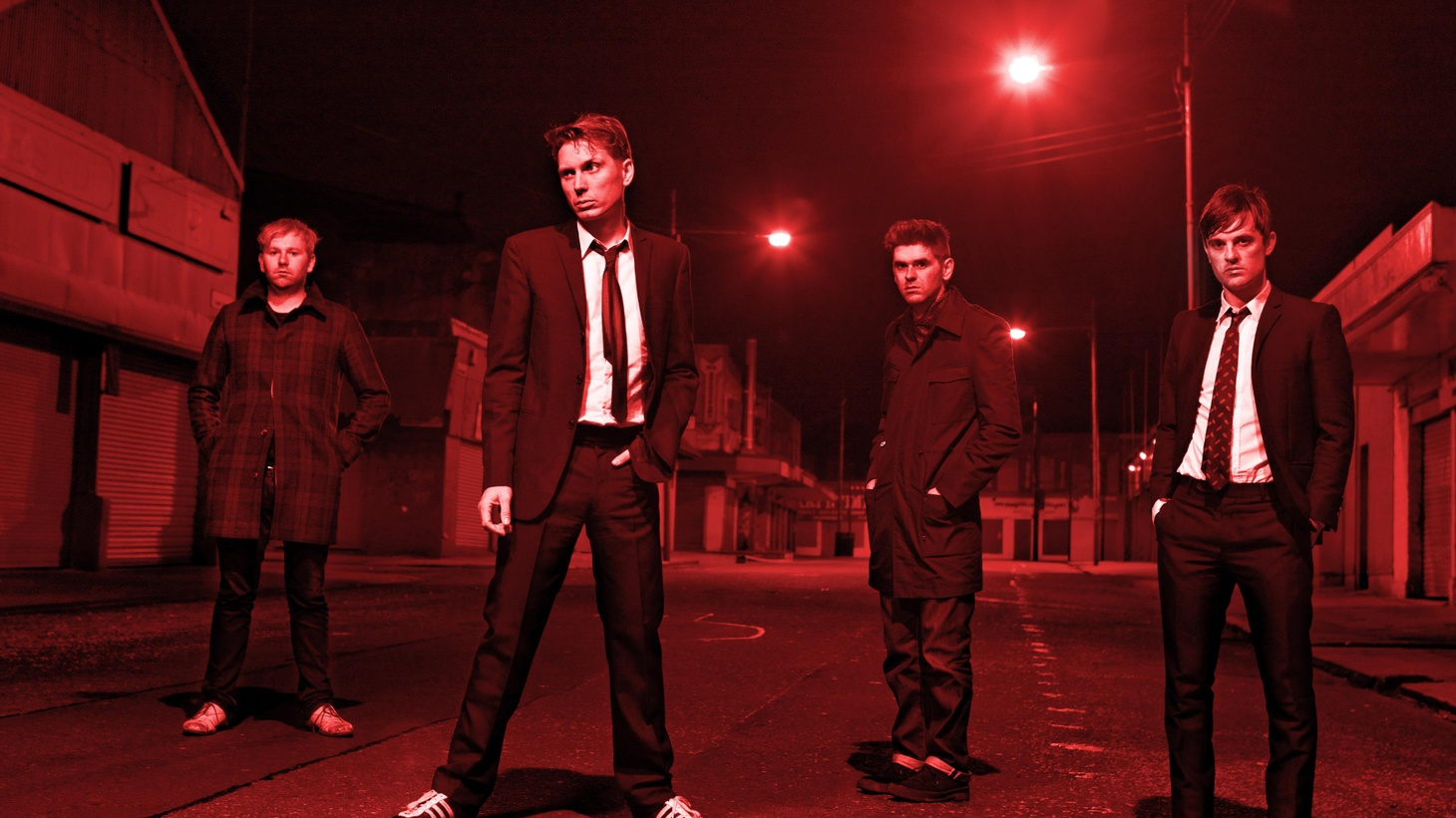 """Inspired by the tale of Alice in Wonderland and the cultural impact of director Tim Burton, Franz Ferdinand contribute an imaginative and original track to the Almost Alice soundtrack. Today's Top Tune is """"The Lobster Quadrille."""""""