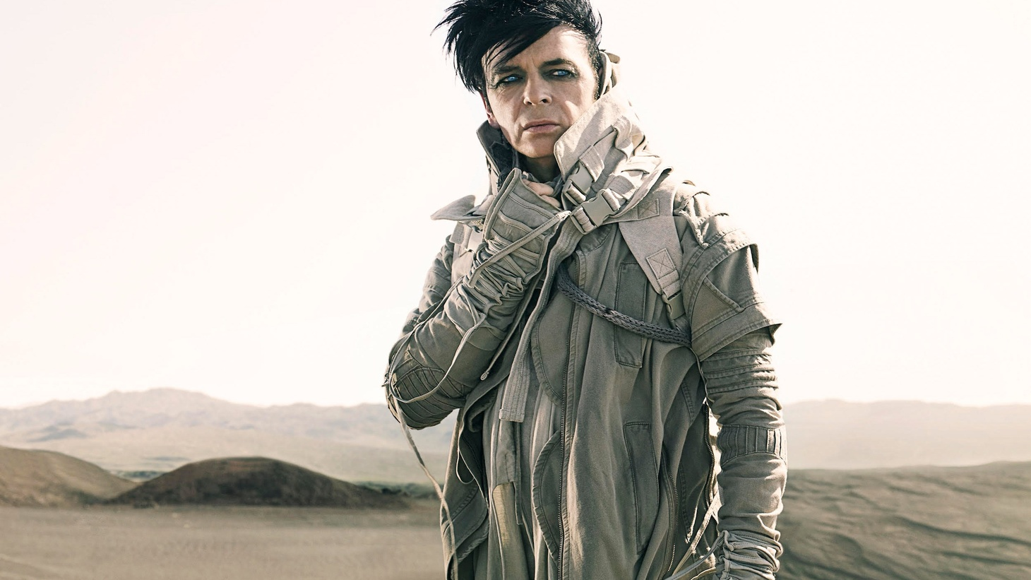Gary Numan digs into what may be the not too distant post-global-warming future where we are left hungry, thirsty and without technology in an apocalyptic arid landscape.